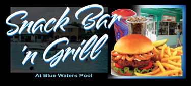 Blue waters pool - Blue water bar and grill ...